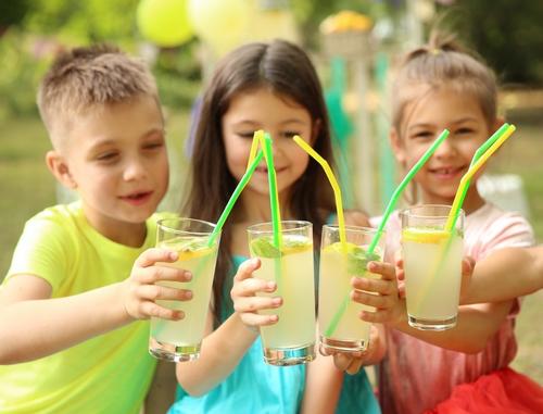 kinderen suikervrije limonade